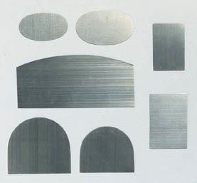Scraper Blades, Set of 7, 0.4mm thick