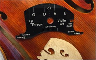 violin deluxe set up template 4 4 size