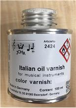 Italian Balsamic Oil Varnish, Red Brown, 100 ml.