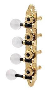 Grover F-Model Mandolin Machines, Gold